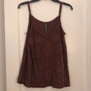 NWT Anthropologie Tank Top size M MP